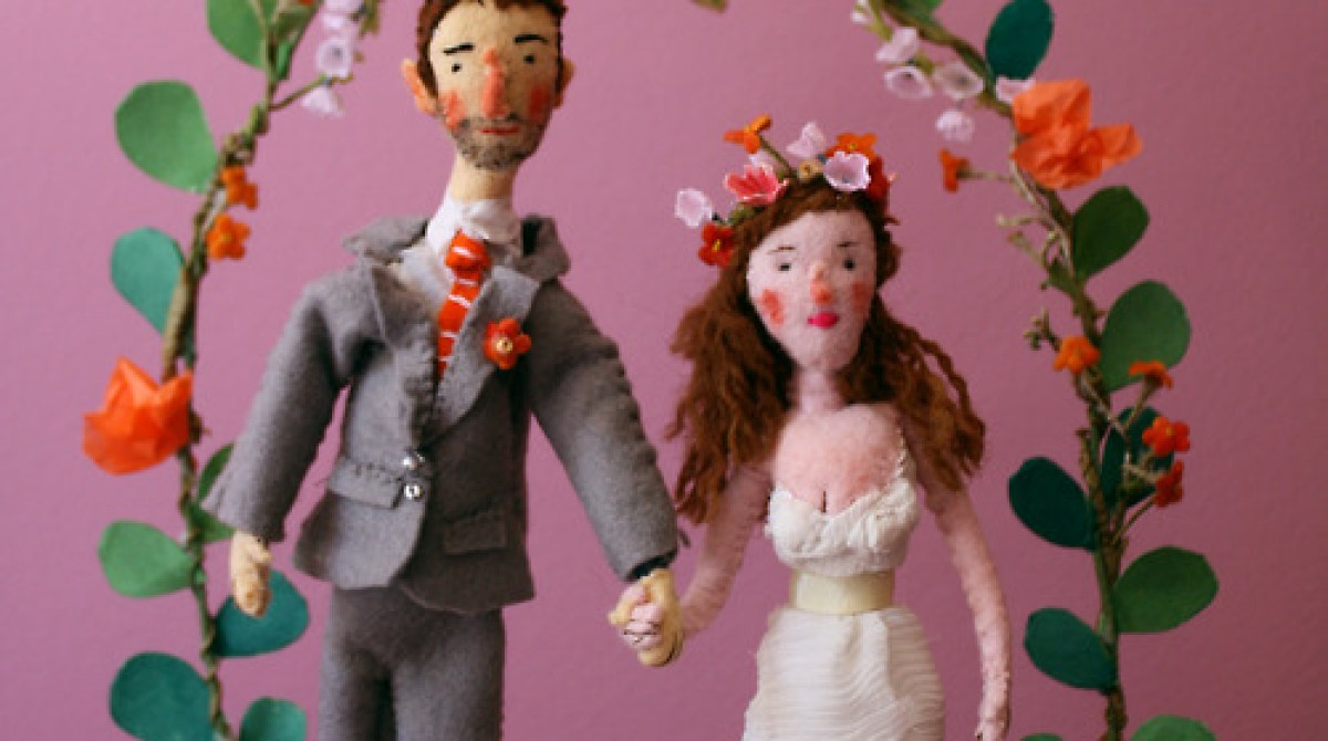 Homemade Wedding Sculpture