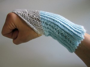 Knitted Wrist Movement Sensor