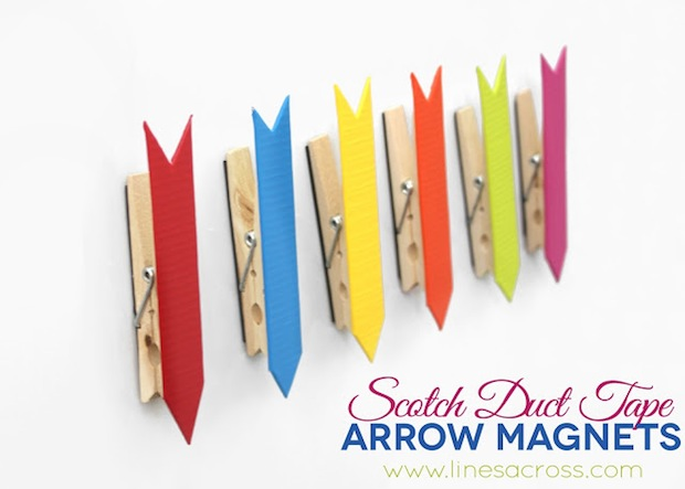 How-To: Duct Tape Arrow Magnets