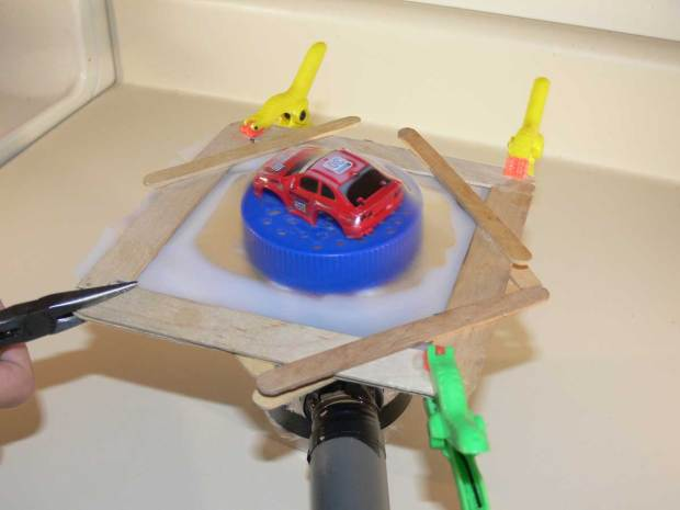 Today on Maker Camp: Playing With Plastic and Raspberry Pi