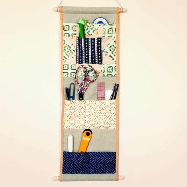 Quilting Happiness Project Excerpt: The Pocket Wall Caddy