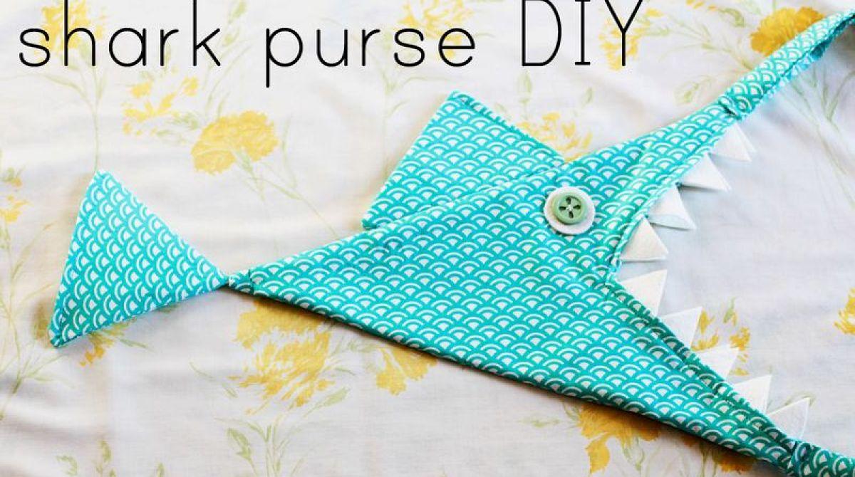 DIY Shark Purse