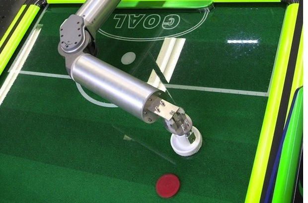 Cross it off the list: This Robot will beat you at Air Hockey