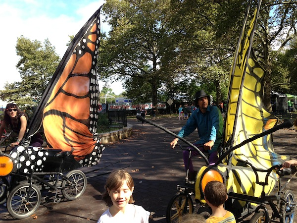 Stretch Your Maker Faire Experience to Zone E: The Butterfly Bikes Are Waiting for You