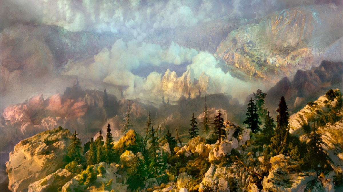The Ethereal Fish Tank Landscapes of Kim Keever