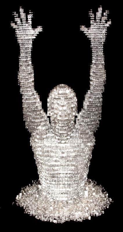 Sawaya's Melting Man: The Art of the Brick