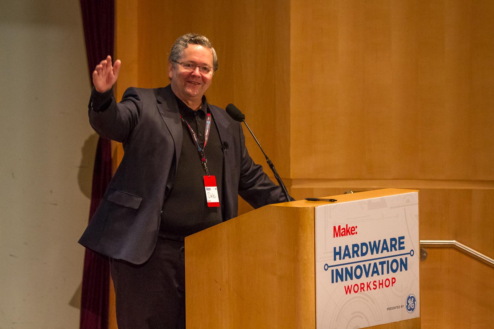 Kicking off the Hardware Innovation Workshop