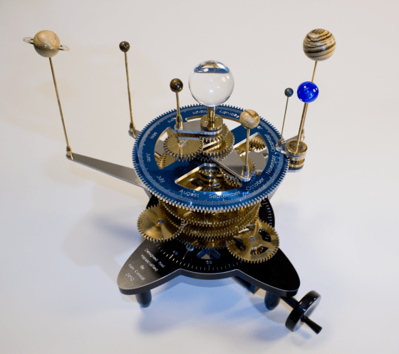 How to Build a CNC-Milled Orrery