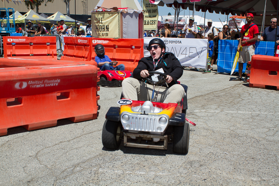 From Barbie to Badass II: The Make Lab Rats Race a Transformed Power Wheels Jeep