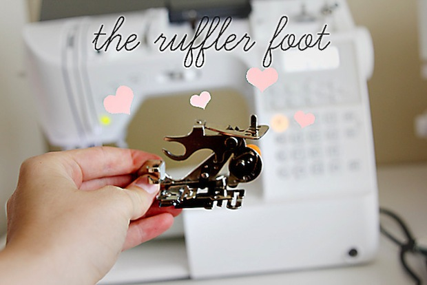 How-To: Use a Sewing Machine Ruffle Foot