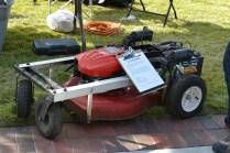 As seen on the cover of Make Vol. 22, [JD Warren's Mowbot](https://makezine.com/2012/01/05/make-an-arduino-controlled-rc-lawn-mower/).