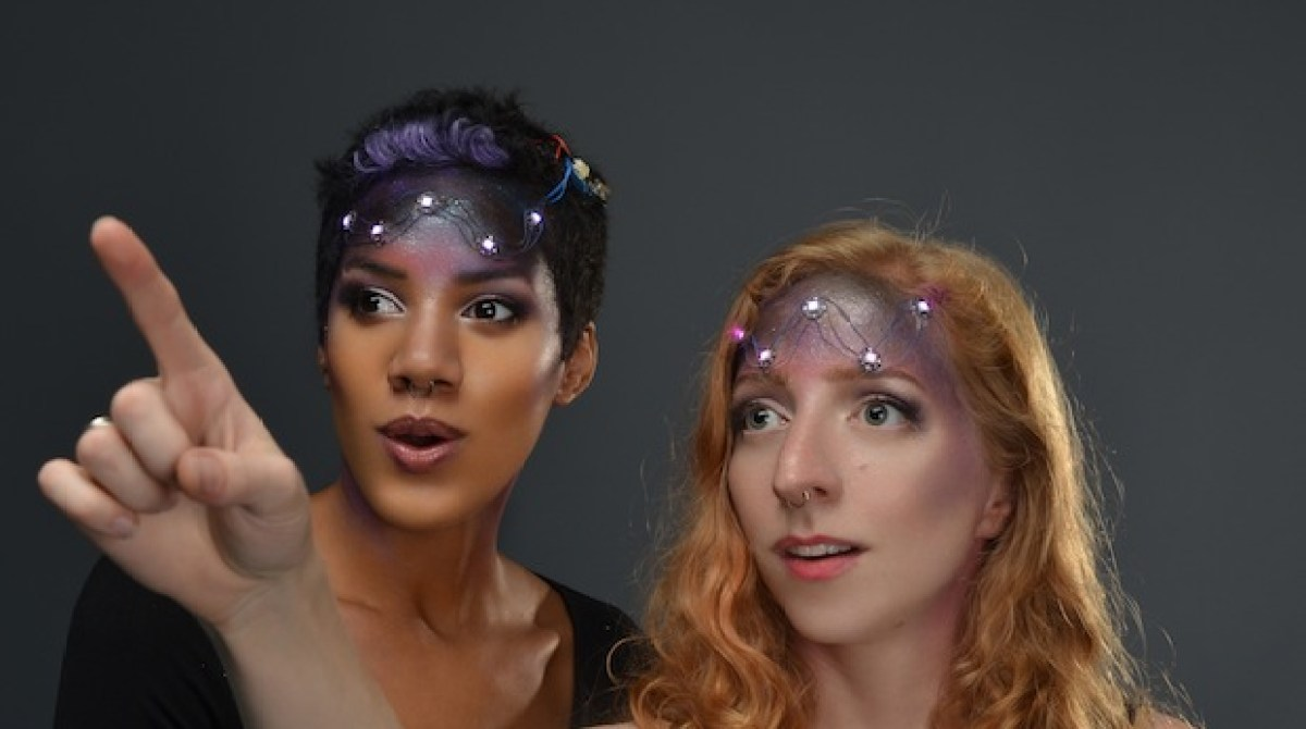 How-To: Space Face LED Galaxy Makeup