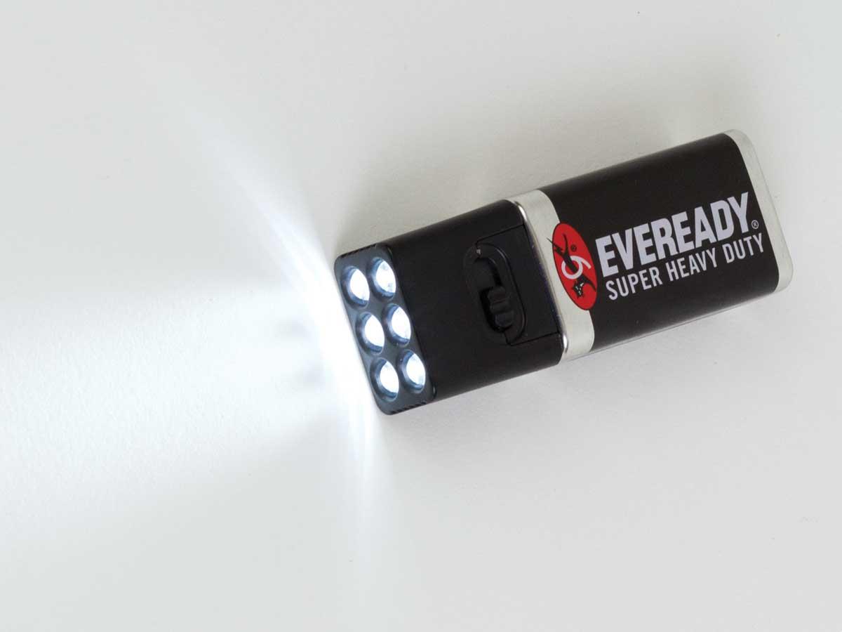Blocklite 9V LED Flashlight