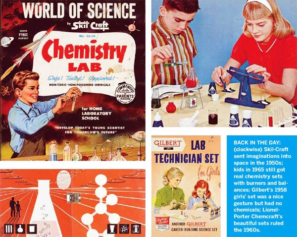 Remaking the Chemistry set for a new Generation