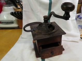 Reassembled grinder