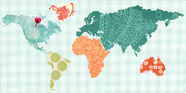 Craftsy's Quilt Shop Map