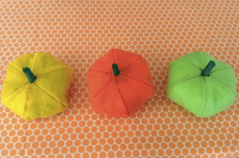How-To: DIY Felt Pumpkins