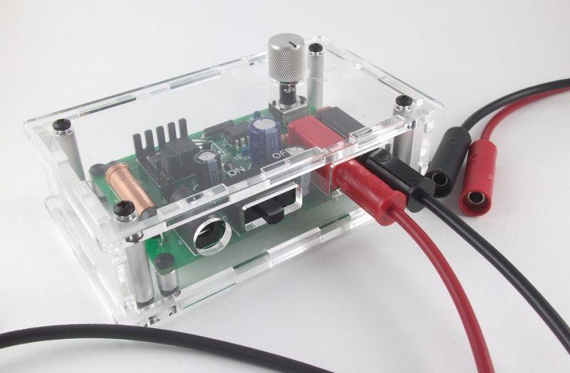 Make a Gel Electrophoresis Power Supply