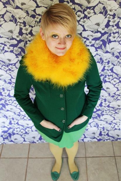 How-To: Last-Minute Dandelion Costume