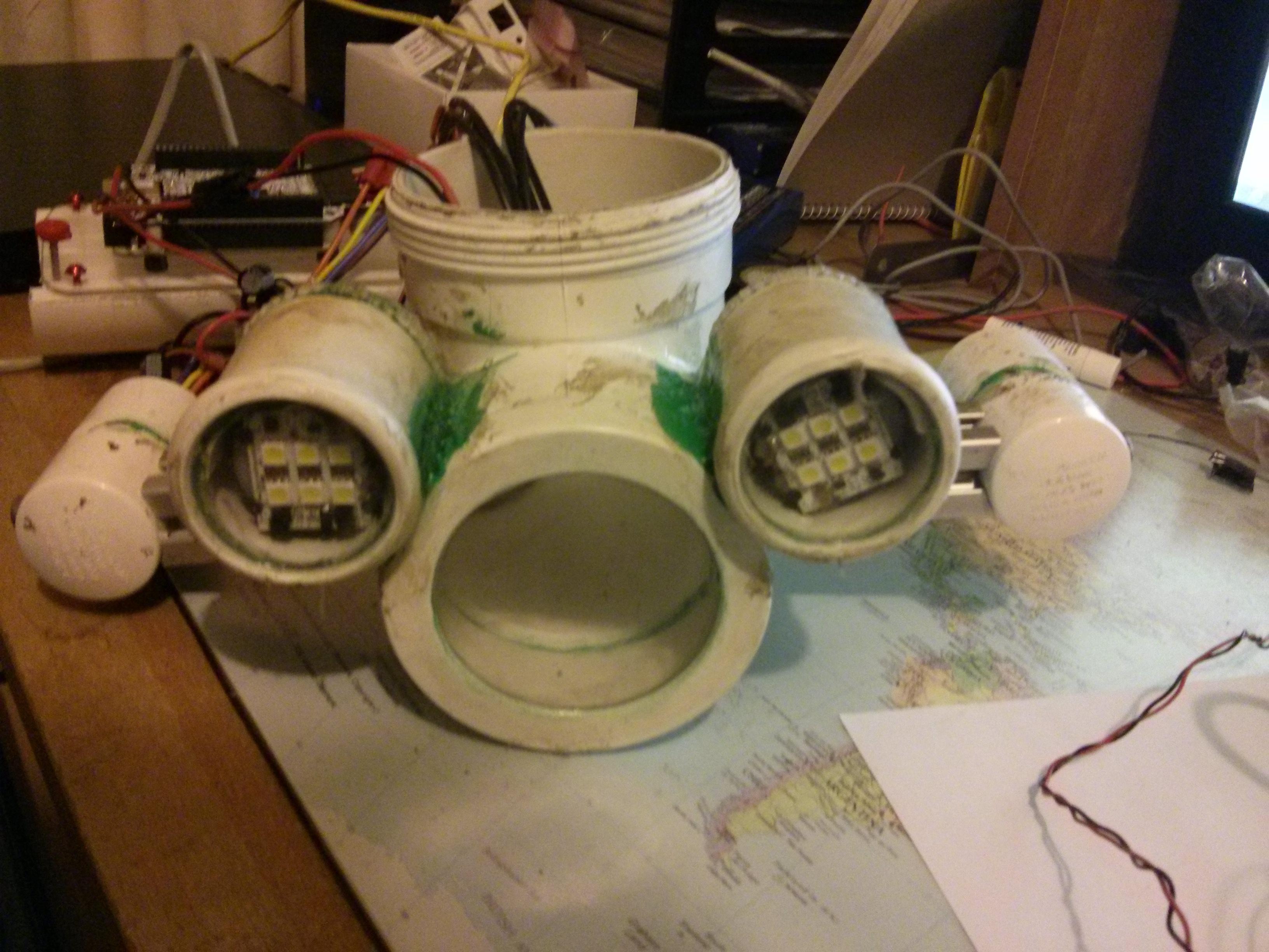 OpenROV Reskinned in PVC
