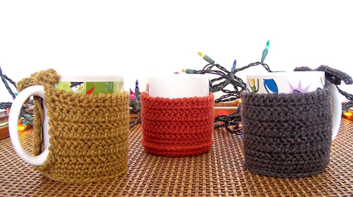 How-To: Crocheted Coffee Mug Cozy