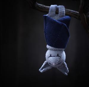 Sleeping Bat Knitting Pattern
