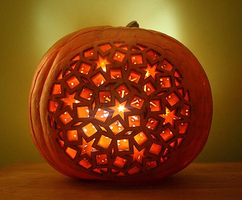 Lasercut Pumpkin Lantern