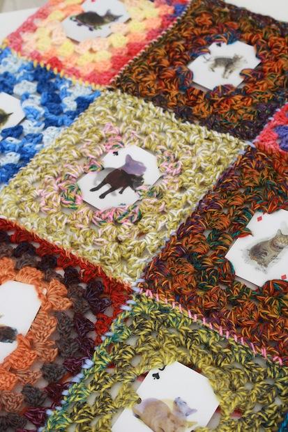 Crochet Inspiration: Crocheted Catpestry
