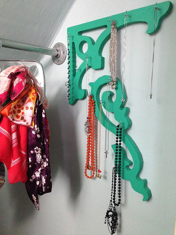 Make a Necklace Hanger