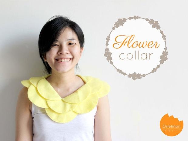 How-To: Flower Petal Collar