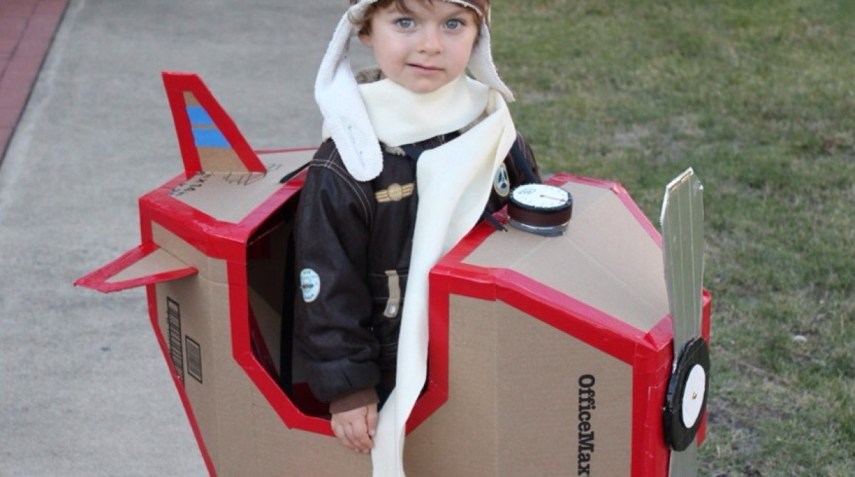 Super Sweet Airplane Costume | Make: