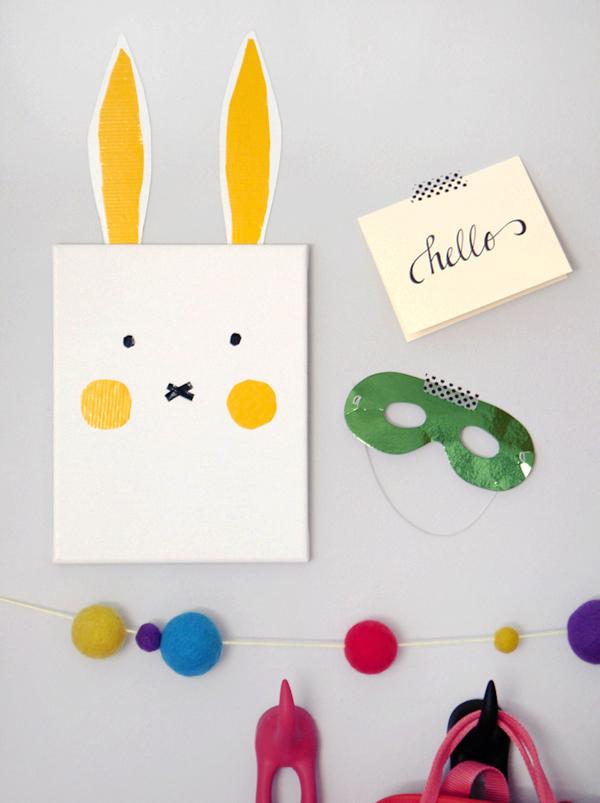 Adorable Bunny Wall Art