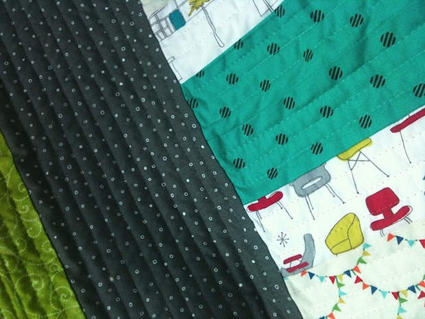 Flashback: Quilting 101: A Simple Patchwork Block