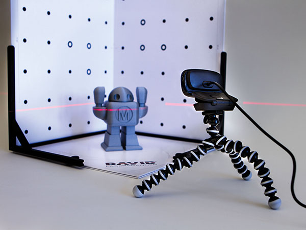 DAVID 3D Scanners