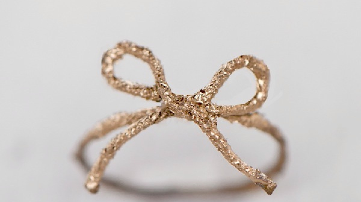 How-To: DIY Twine Bow Ring