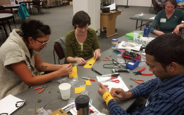 Make iT at the Library Training Session
