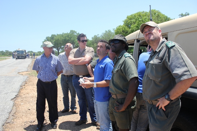 UAVs Demonstrated for South African National Parks Officials
