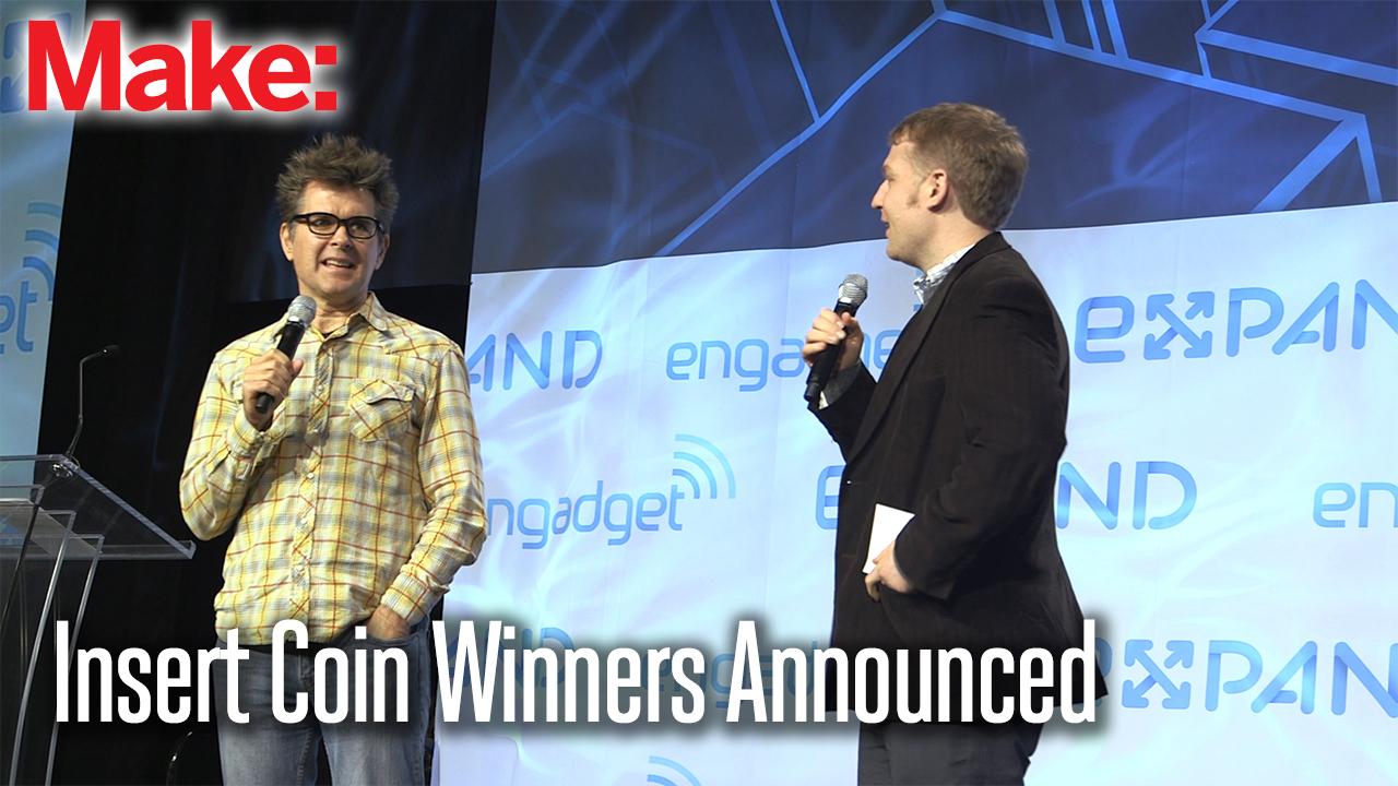 Insert Coin Winners Announced