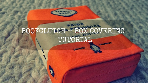 How-To: Penguin Classics-Inspired Quilted Book Clutch
