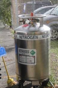 Liquid Nitrogen - a favorite Maker tool!
