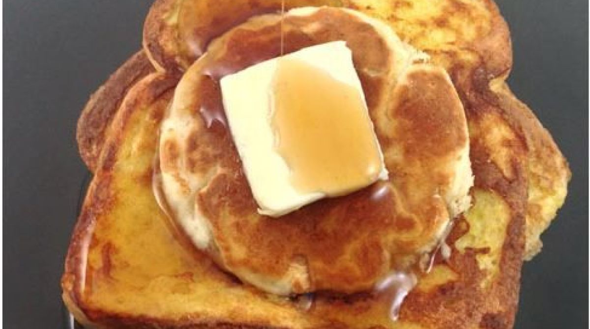 How-To: Pancake Stuffed French Toast