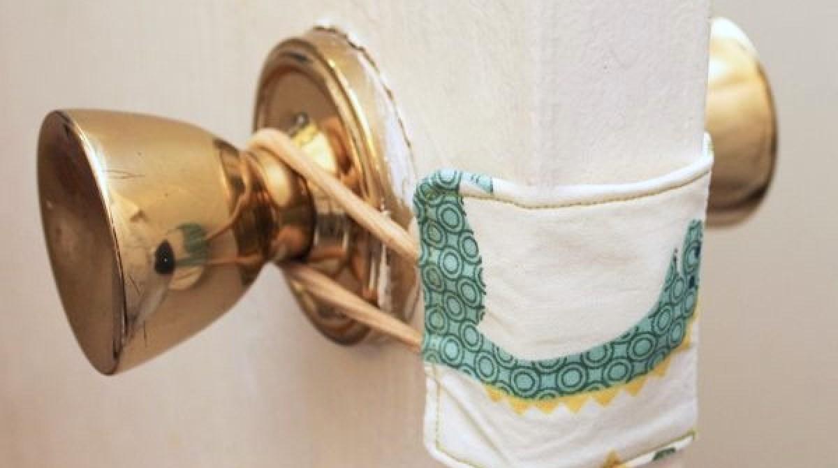How-To: Nursery Door Latch Cover