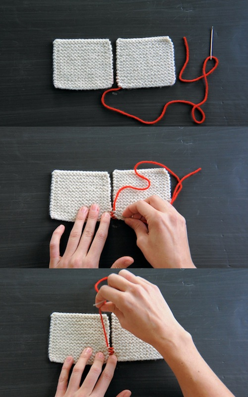 Knitting Videos: 4 Finishing Techniques from The Purl Bee