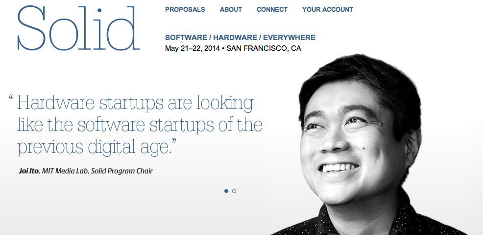 Solidcon, O'Reilly's New Internet of Things Conference