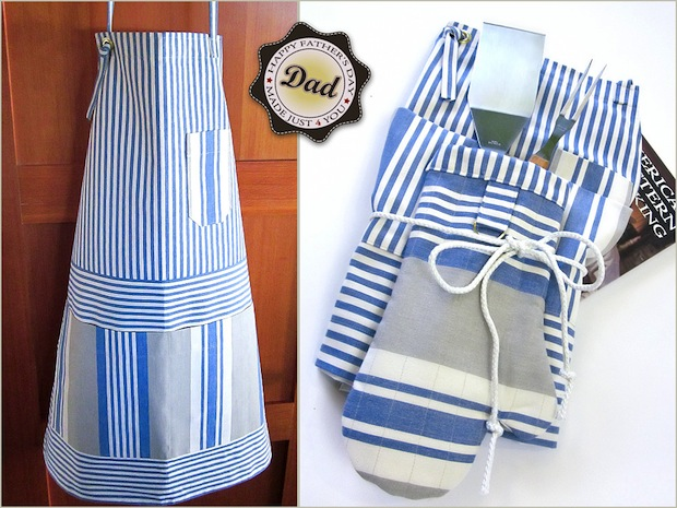 How-To: Guy-Friendly Cook's Apron and Oven Mitt