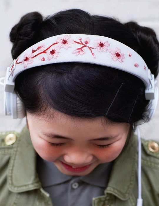 How-To: Embroidered Headphones