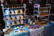 Lots of soaps to choose from.
