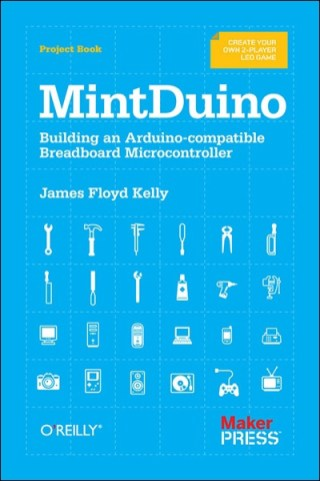 Build and Arduino-compatible micro controller on a breadboard. This hands-on book on the MintDuino shows you how to build a complete MintDuino project from start to finish. Learn how to assemble the microcontroller on a breadboard (no soldering required), and immediately begin programming it.