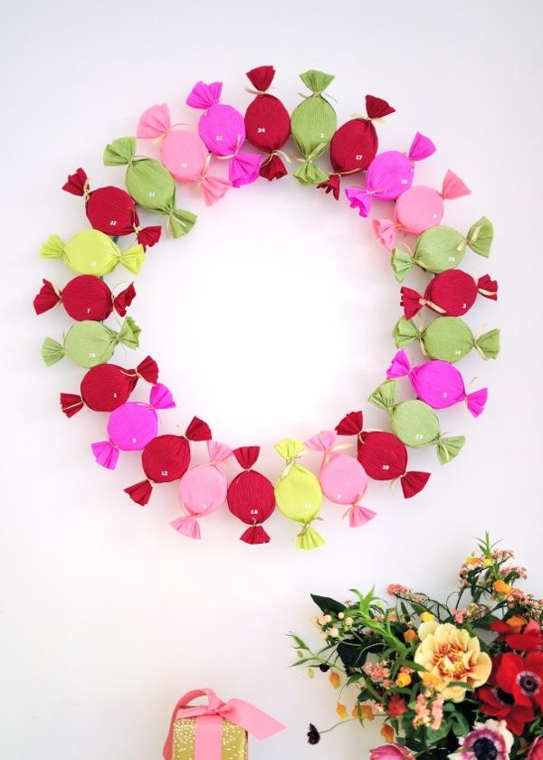 How-To: Bonbon Advent Wreath