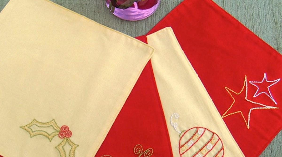 Flashback: Holiday Embroidery Patterns